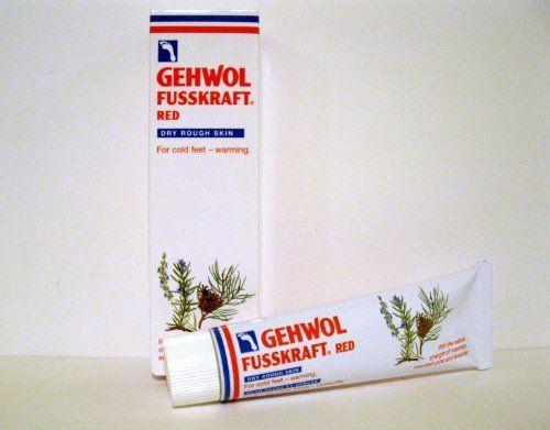 gehwol fusskraft red foot cream