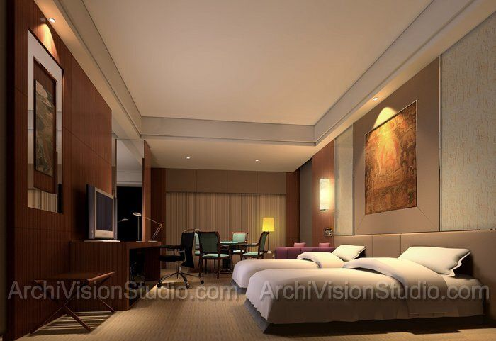 Hotel room interior design hotel interior design hotel for Hotel bedroom designs pictures