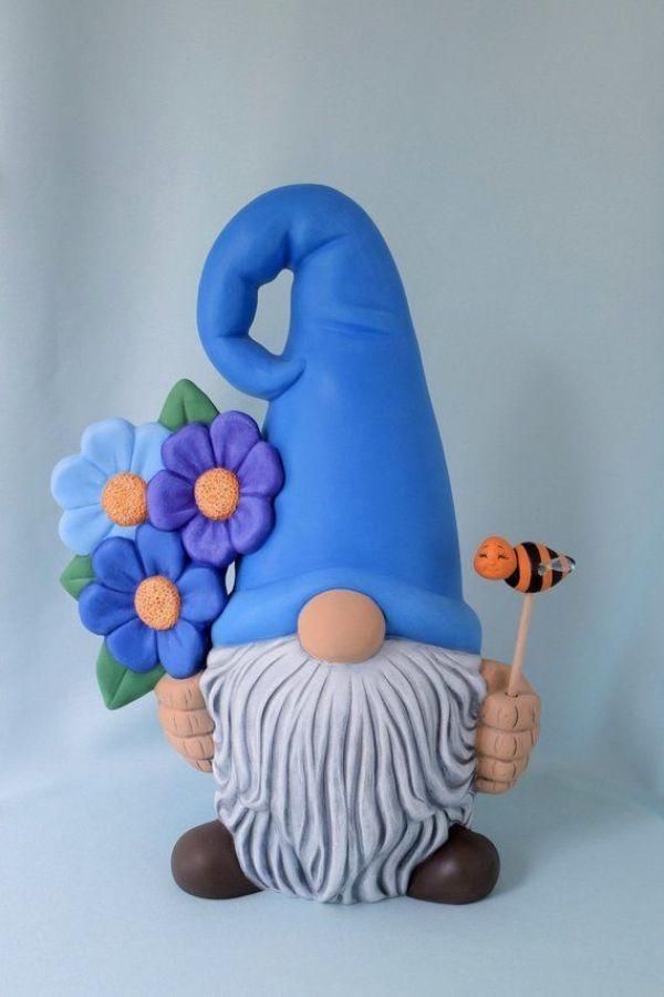 Interessante DIY gemalte Garten-Dekorations-Ideen für einen bunten Yard 7