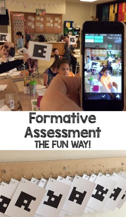 Formative Assessment the Fun Way is part of Formative assessment, Classroom assessment, Formative assessment strategies, Formative assessment elementary, Assessment strategies, Plickers - As teachers, we know that we are ALWAYS assessing, and using that information to guide our instruction  With the help of tech, that has never been easier