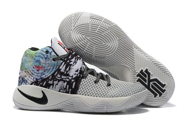 new concept 99057 0efe3 Nike Kyrie 2 Original Nike kyrie 2 Black Grey Basketball Shoe ...