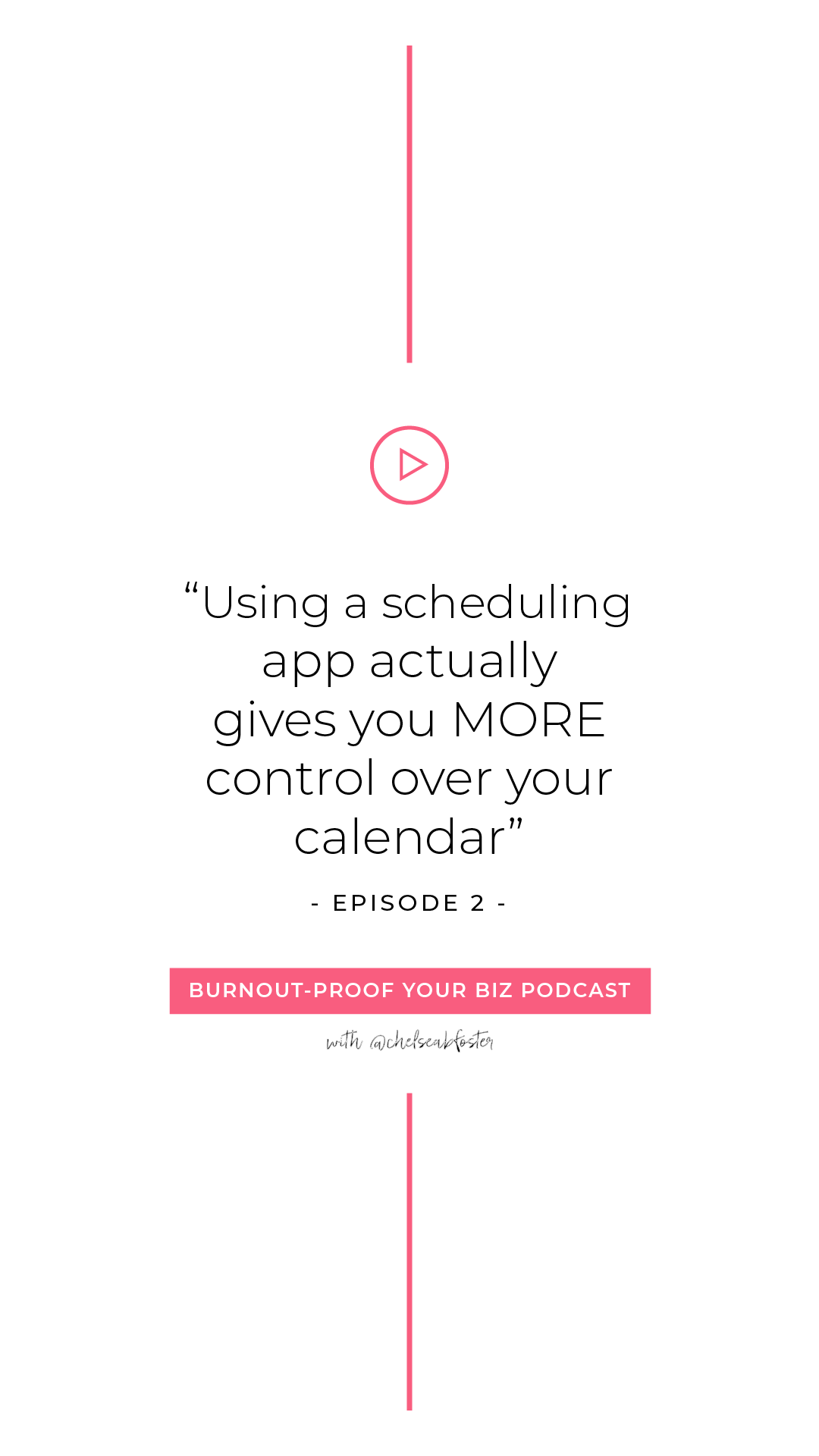 Episode Calendar.Using A Scheduling App Actually Gives You More Control Over Your