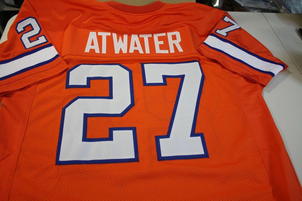 Denver broncos steve atwater 27 custom throwback jersey
