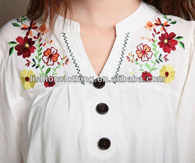 Dibujos para bordar a mano blusas - Imagui | bordados y manteleria ...