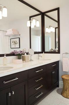 bathroom color scheme for espresso vanity - google search