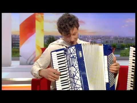 Lithuania's Martynas Levickis on BBC One - Breakfast_2013 07 01