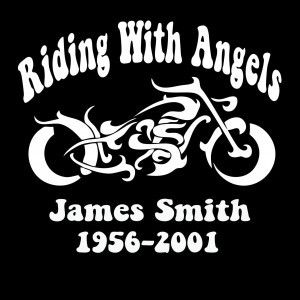 Loving Memory Decals Motorcycle Custom Sticker Shop Rest In - Custom vinyl decals motorcycles