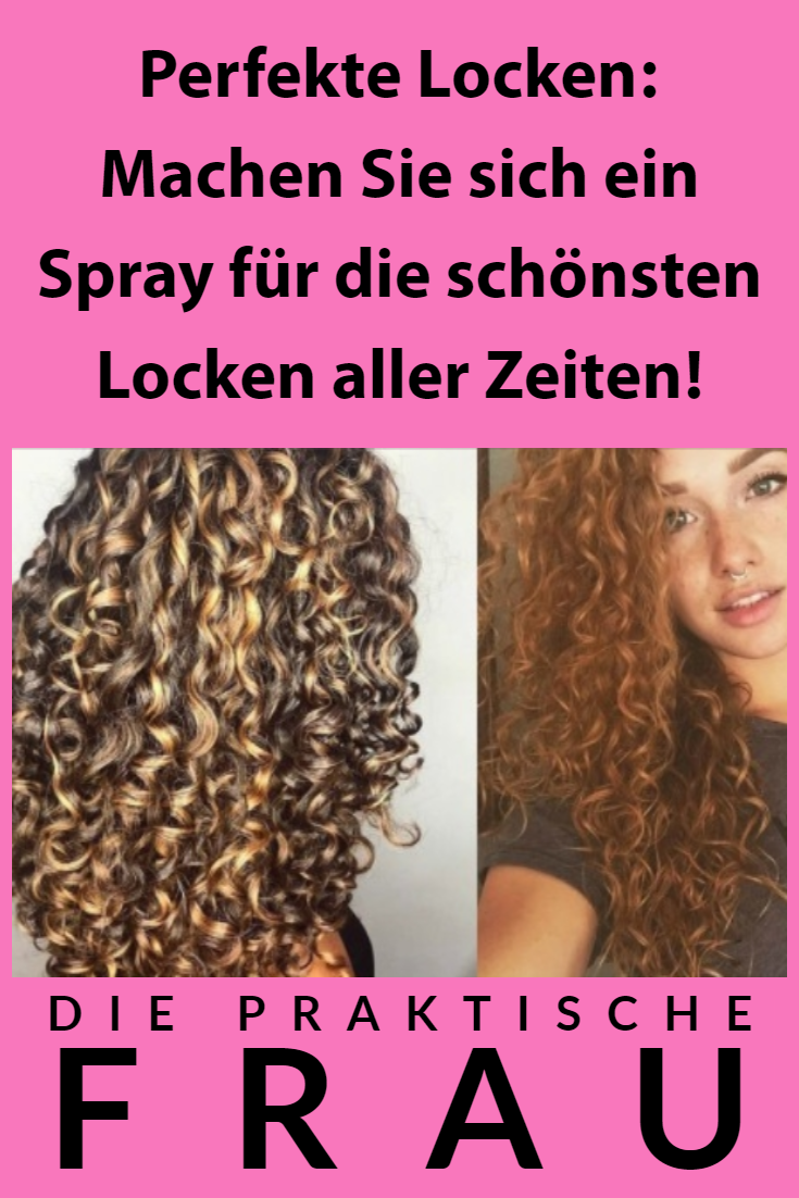 Photo of Perfect curls: make yourself a spray for the most beautiful …