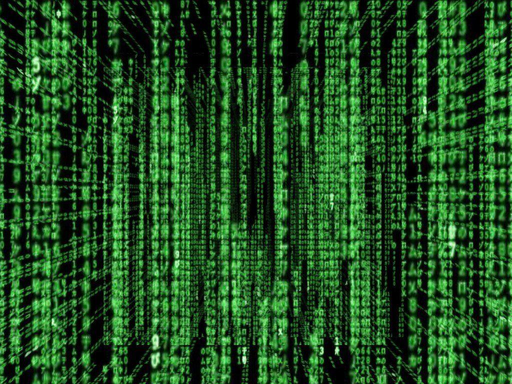 How To Create A Falling Matrix Code Effect In Notepad Glitch In