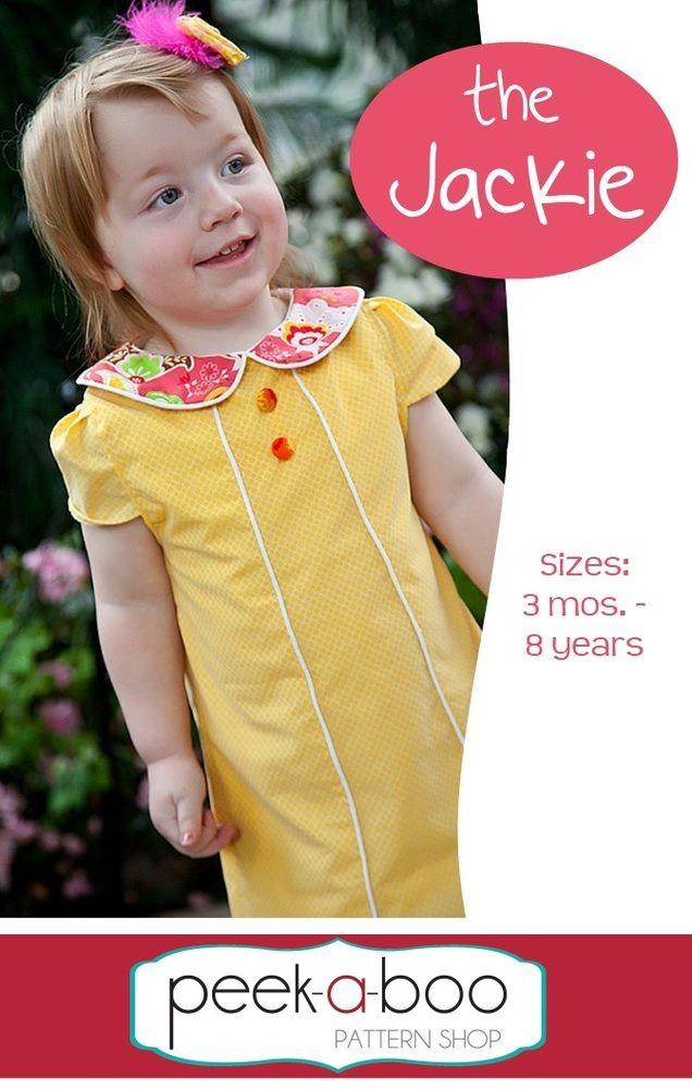 Peek-a-boo pattern shop The Jackie Dress | Fabric and Pattern Love ...