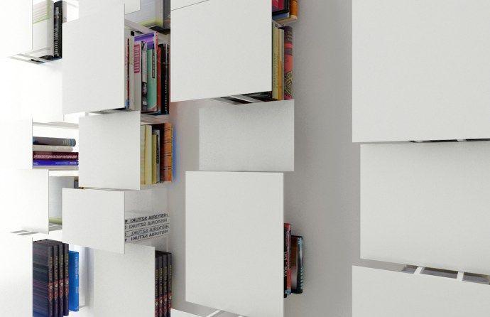 如裝置藝術般的書架   MyDesy 淘靈感