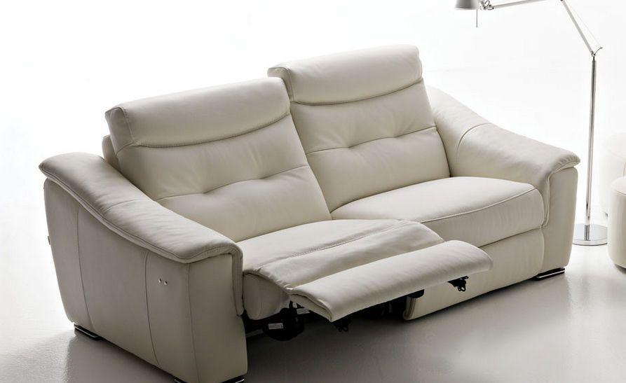 contemporary leather recliner sofa JACO by Centro Studi BUSNELLI