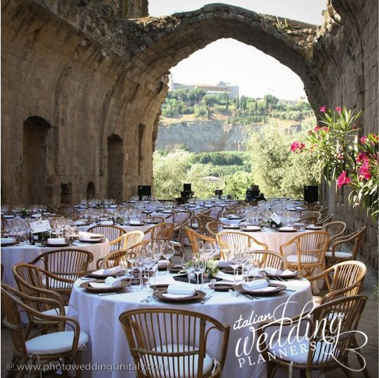 Ceremony Abroad Reception At Home: Italian Wedding Venues, Wedding