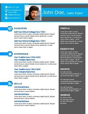 Classy looking Resume, perfect for those job hunters looking to - looking for resume