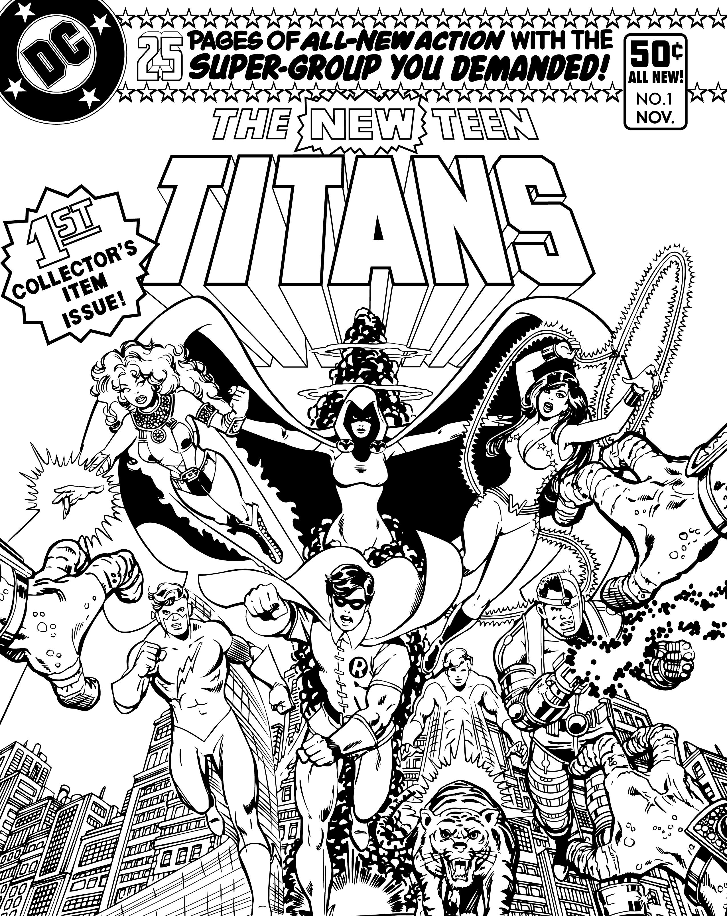 3-1.png (2550×3210) | DC Comics Coloring Book | Pinterest | Coloring ...