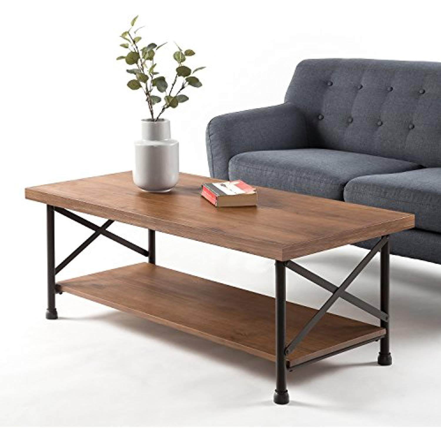 Zinus industrial style coffee table check out the image by