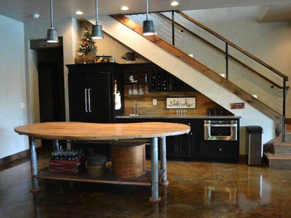 Impressive Kitchen Design With Bat Stairs Best Ideas About ... on under stairs bar designs, under stairs pantry design, tattoo shop design ideas, under stairs storage ikea,