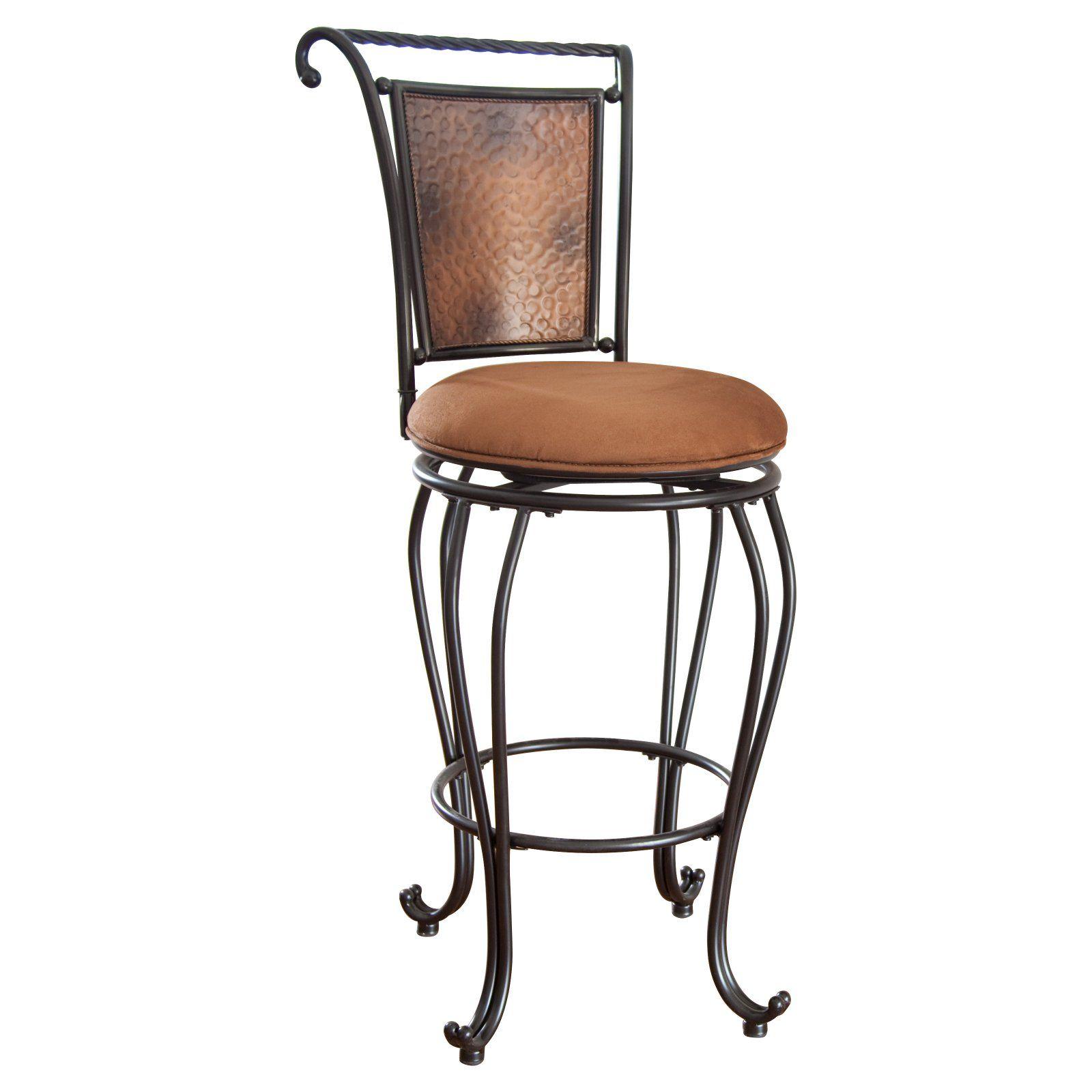 Hillsdale Milan 30 in. Swivel Bar Stool Bar stools