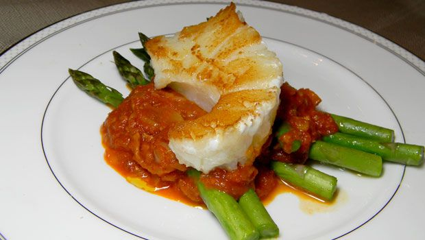 Tomato Gumbo with Sea Bass Recipe, By Trish With Love
