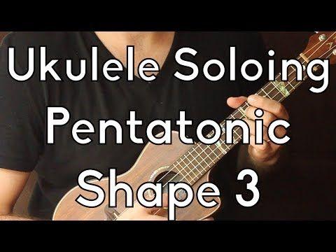 C Minor Pentatonic Shape 3 Ukulele Improv And Solos Youtube