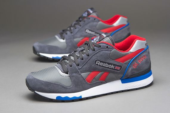 ed39b468a43 Reebok GL 6000 - Mens Select Clothing - Rivet Grey-Trust Blue-Gravel-Excellent  Red