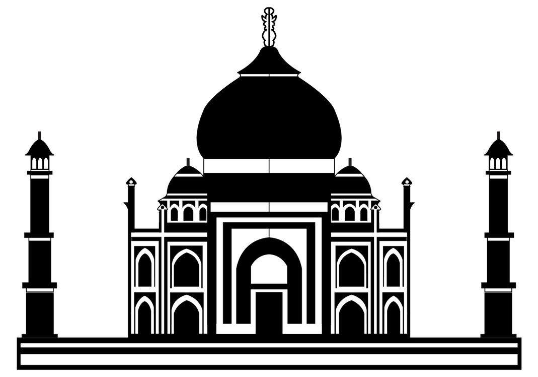 Taj Mahal silueta | Ramadan & Eid :) | Pinterest