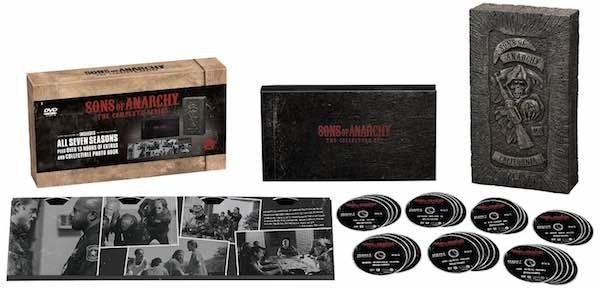 Amazon 70 Off Sons Of Anarchy The Complete Series On Blu Ray And Dvd Prices Start At 59 99 Sons Of Anarchy Pop Culture Gifts Dvd Gift