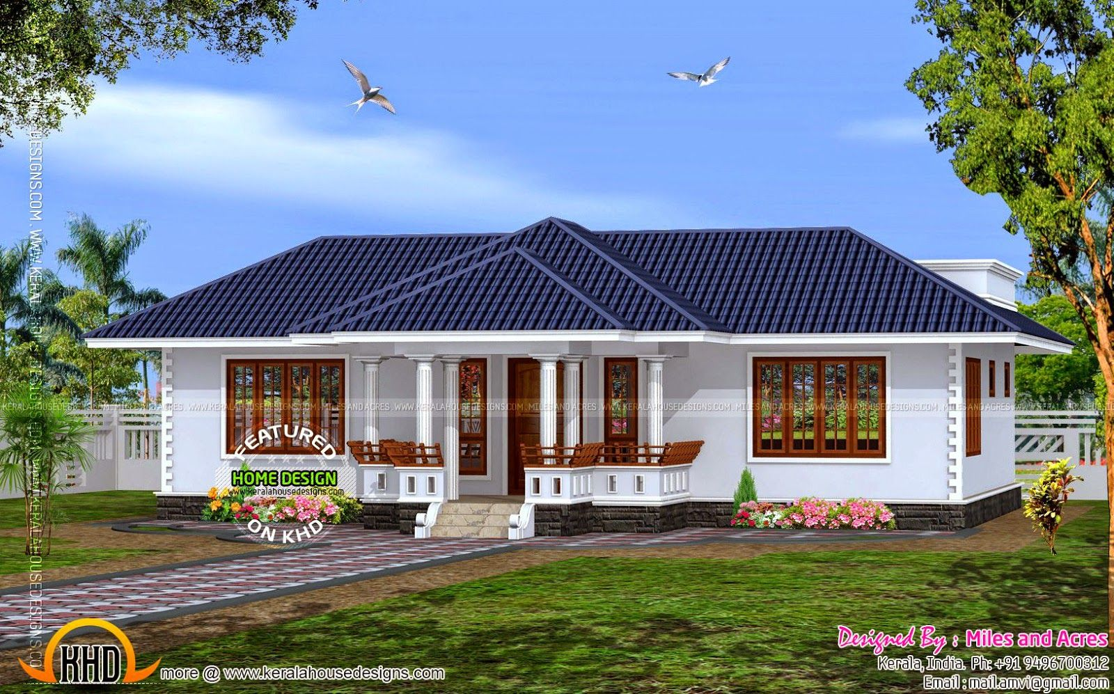 Perfect Design Single Home Designs House Plan Of Single Floor House Kerala Home  Design And Floor Plans Best Single Person Home Designs