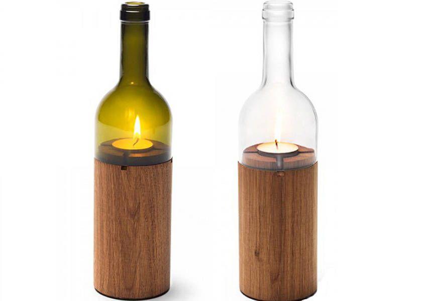 alte flaschen und gl ser wiederverwerten vier upcycling. Black Bedroom Furniture Sets. Home Design Ideas