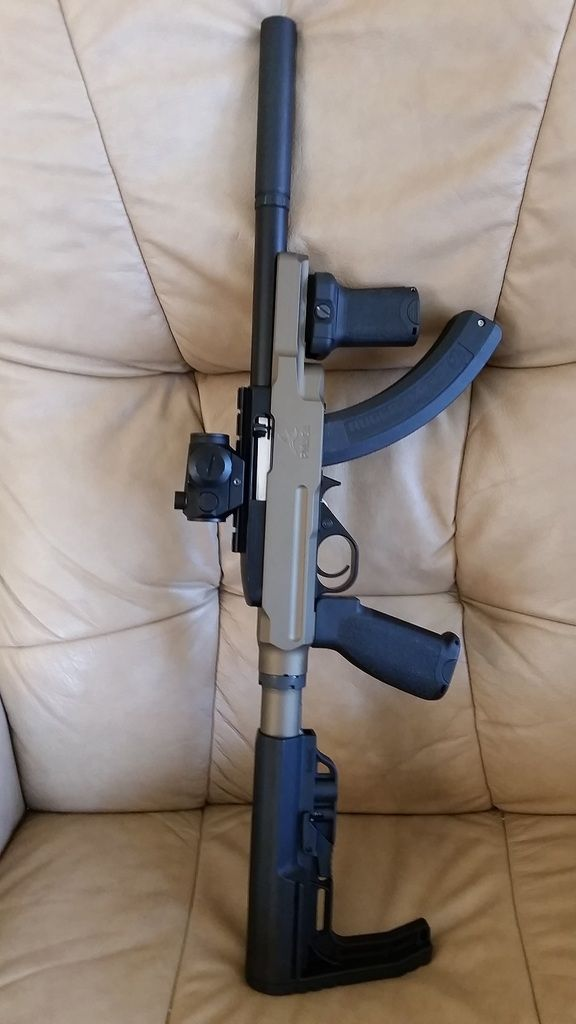 Sbring A Ruger 1022 Charger What Stock 2nd Amendment Ruger