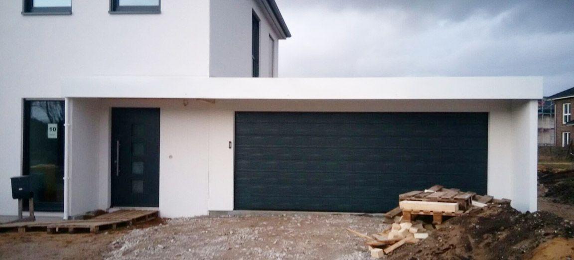 Stadtvilla mit carport und garage  Garagen-Carport-Kombination als Fertiggarage | Garage | Pinterest ...