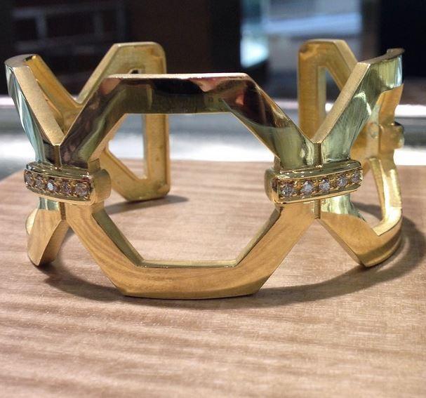 Penny Preville Deco Bangle Bracelet