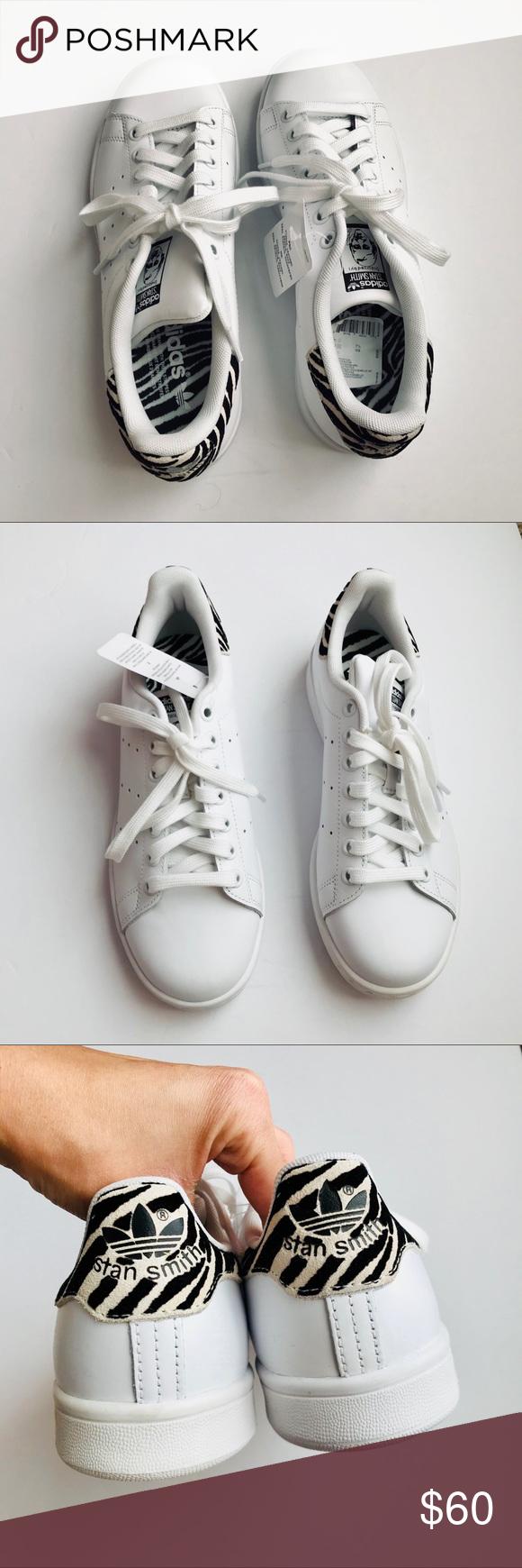 85ac4af45a2d New Rare Adidas Stan Smith Zebra Print B26590 New. adidas Shoes