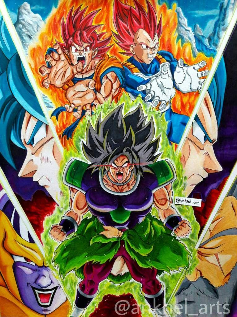 Dibujo de Dragon Ball Super