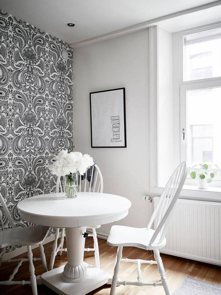 Refrescar una decoración con el color blanco Decoracion pisos
