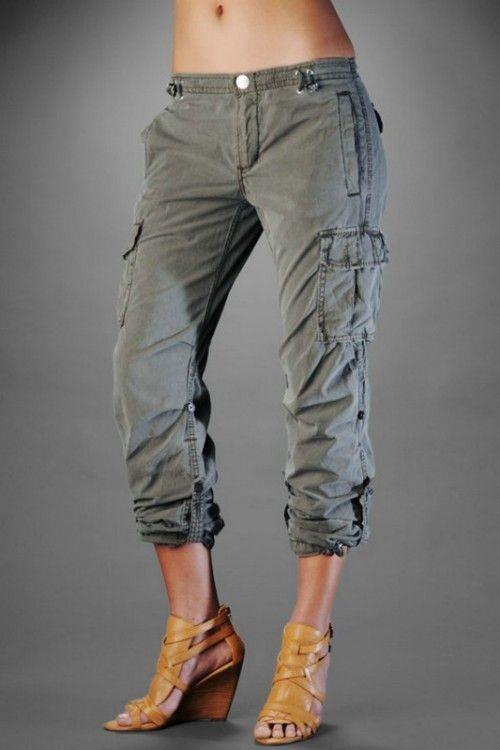 2013 Fashion Trends For Women Cargo Shorts For Women
