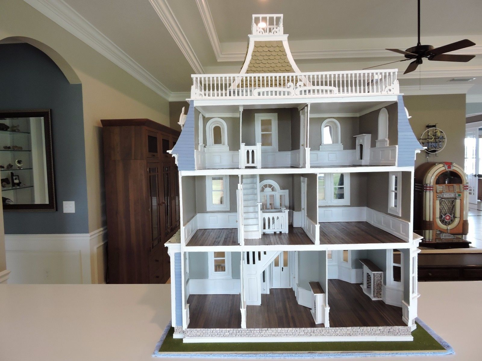 Dollhouse by Greenleaf (The Beacon Hill) Modified Custom & Completed ...