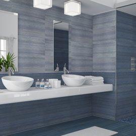 carrelage mural bleu ciel extravaganza 30 x 60 cm ides pour la salle de bains pinterest google recherche et merlin - Faience Bleue Salle De Bain