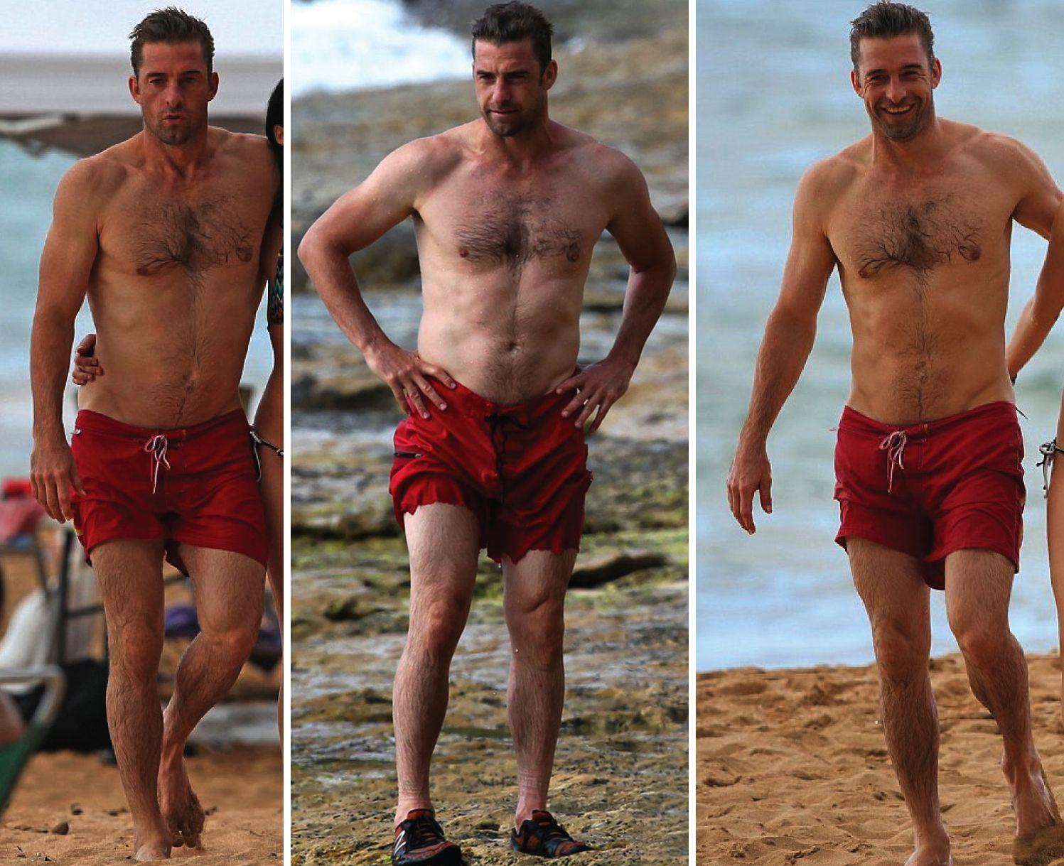 Scott Speedman shirtless