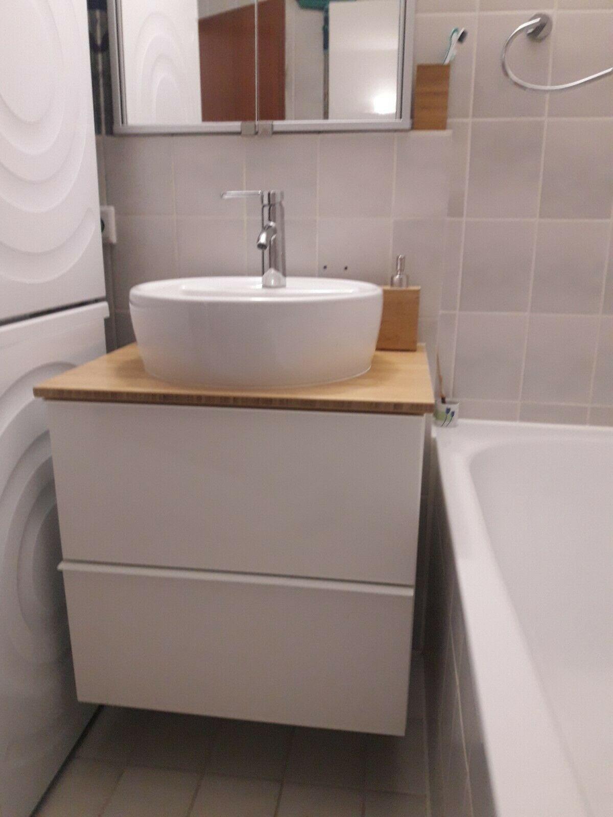 IKEA GODMORGON WASCHBECKENUNTERSCHRANK 62x49x74 godmorgon ...