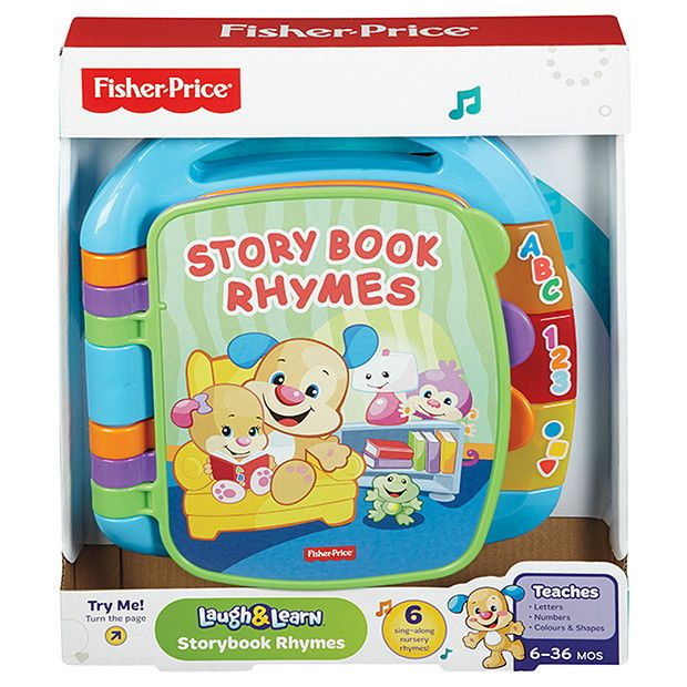 Fisher Price Laugh Learn Storybook Rhymes