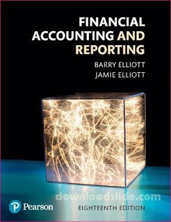 Financial accounting and reporting 18th edition by elliott english financial accounting and reporting 18th edition by elliott fandeluxe Gallery