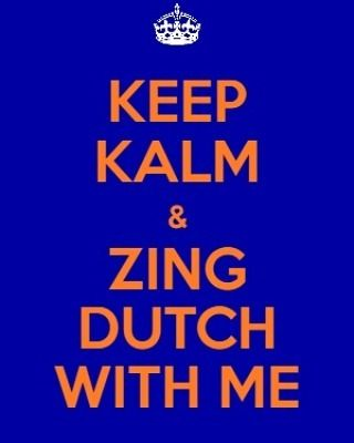 We sing Dutch songs with Both #Dutch native speakers and #expats