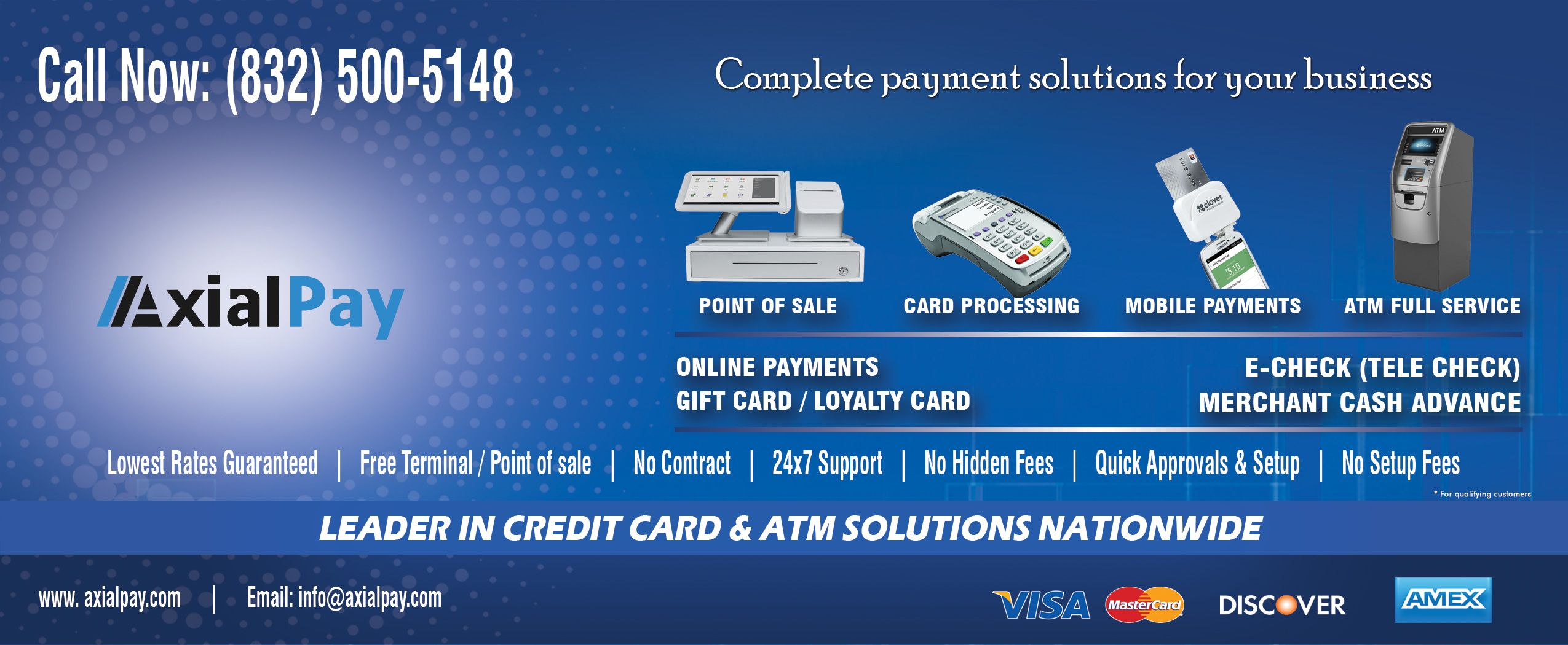 United Credit Card Customer Service Axialpay Offers Payment And Merchant Services For Merchants