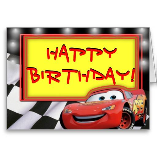 Cars Happy Birthday Holidays And Special Occasions Pinterest