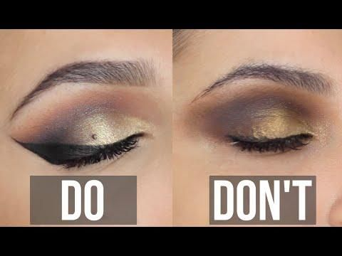 Image result for eyeshadow dos and dons