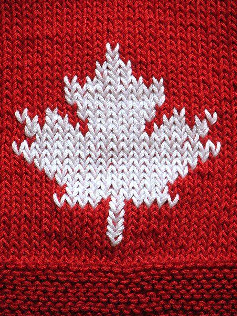 canadian bib Knitting