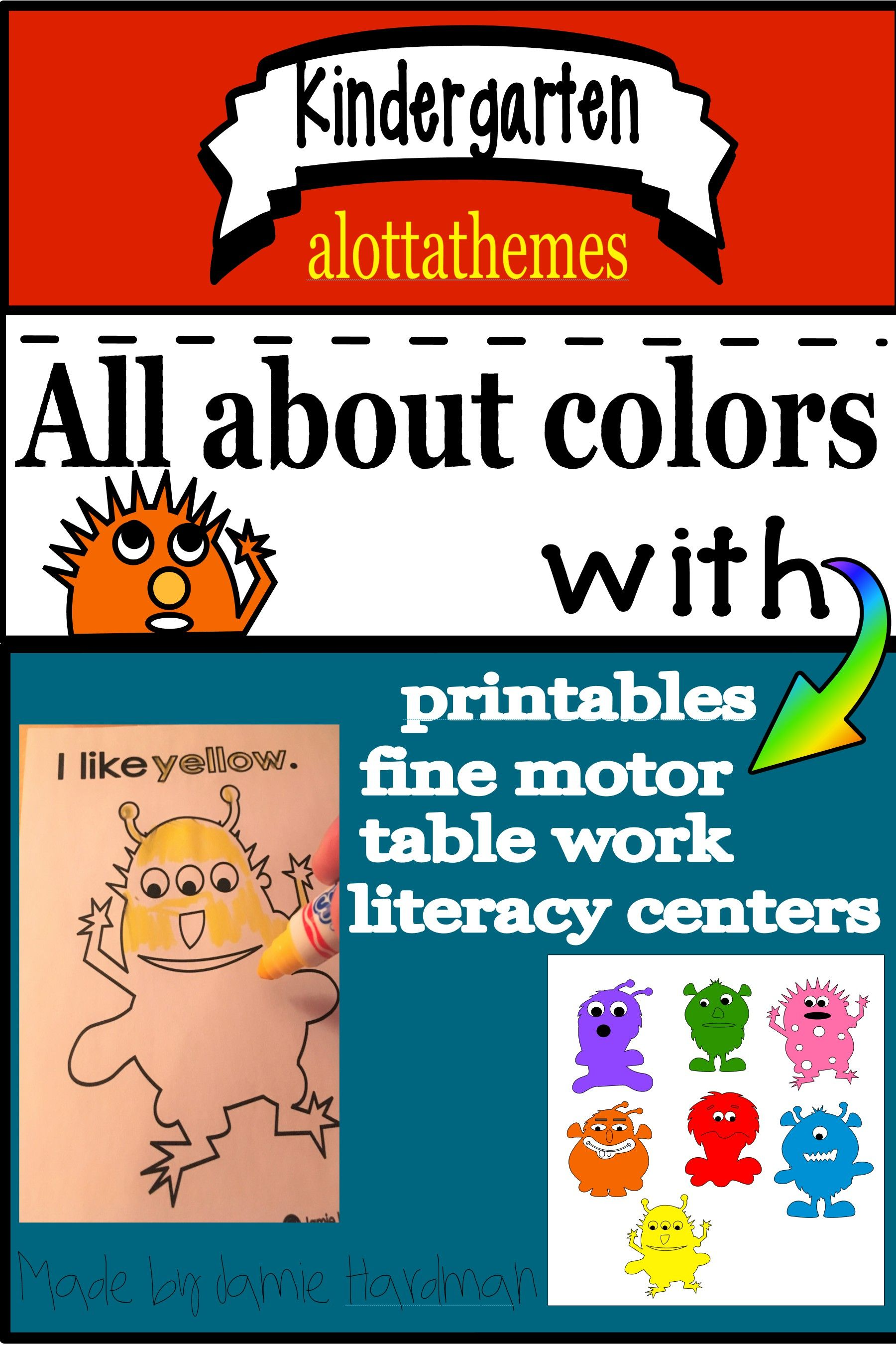 COLORS and monsters | Popular pins | Pinterest | Student learning ...