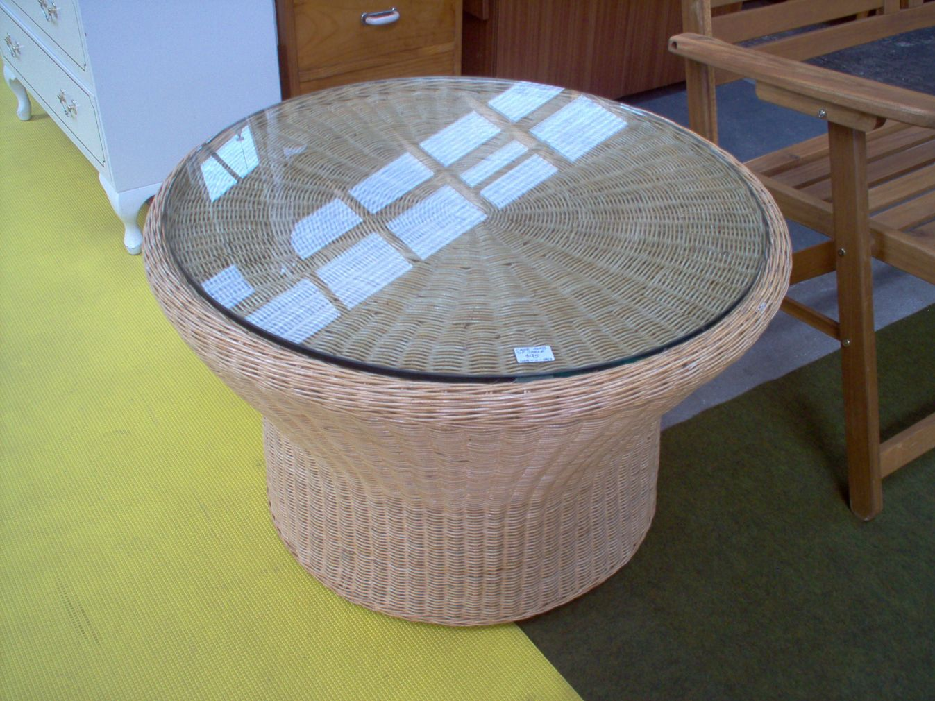 Charmant Cane Coffee Table With Glass Top   Modern Wood Furniture Check More At  Http:/