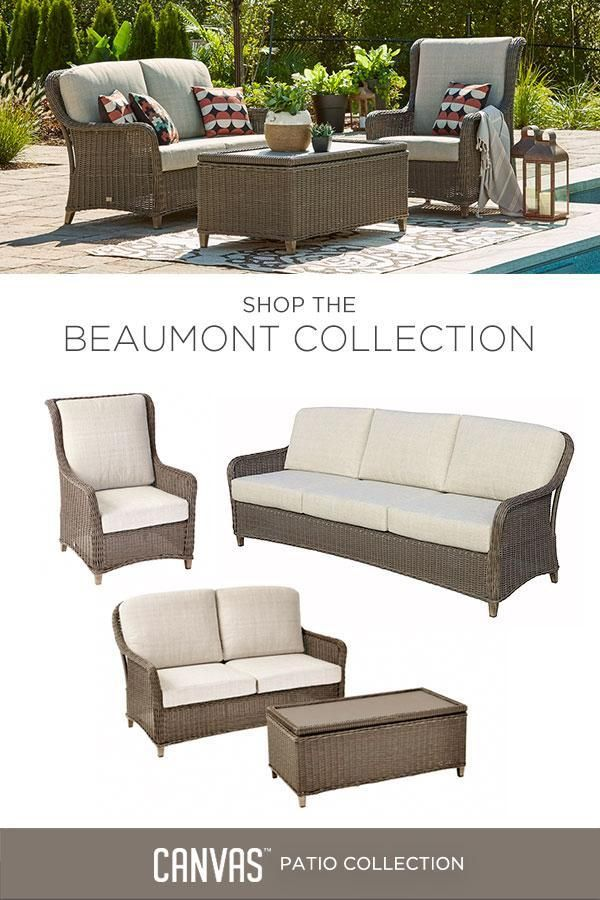 Add Style And Function To Your Outdoor Space With The CANVAS Beaumont Patio  Collection. #MyCANVASstyle